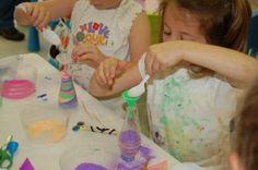 art party, birthday parti, art birthday, sand art, art parti, birthday idea, party activities, kid parti, parti idea