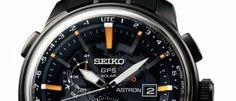 Seiko Astron Solar GPS 6 nuevos modelos inspirados en la majestuosidad de la estratosfera con cristal de zafiro abovedado y 39 husos horarios.