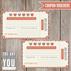 Printable Valentine Coupons : so many other cute printables!
