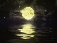 The moon has always been and always will be Magical  romanticabymarguerite.com