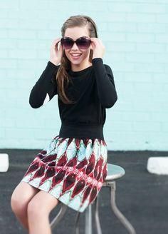 Mod and Ethnic mis style Tween Fashion  www.froskwear.com
