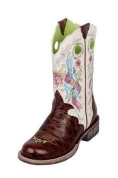 Ariat Rodeobaby Rocker boots!