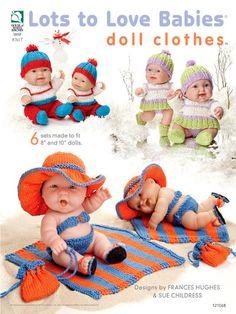 crotchet craft, babi doll, craft idea, crochet doll, baby dolls, craft booklot, baby doll clothes, cloth pattern, knit craft