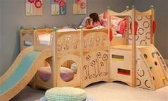 built in play area bedroom - Bing Images