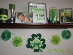 St. Patrick's Day Decorations and Decorating Ideas  Homeseasons.com