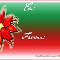 Ponsettia Gift Card