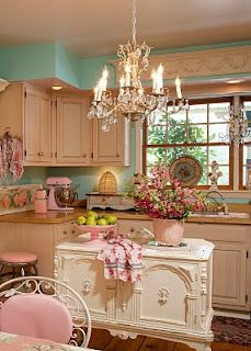 Sweet girly kitchen
