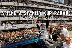 Attend A Stanley Cup Parade