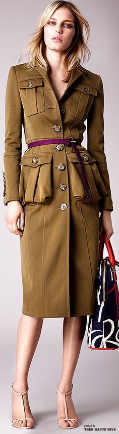 Burberry Prorsum Resort 2015.