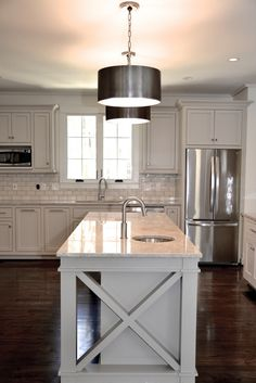 Tone on tone kitchen. CS Interiors. -via Interior Canvas.
