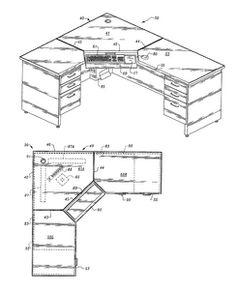 Corner desk measurements