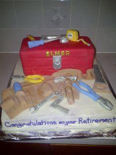 Toolbox Retirement Cake