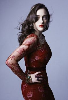 Kat Dennings - I've kind of got this platonic girl crush on Kat Dennings!  She's gorgeous and funny and amazingly talented!