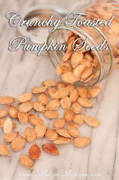 Crunchy Toasted Pumpkin Seeds