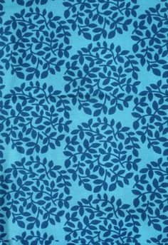 Blue Leaf Dots by Westminster Fibers | Pattern Dreams