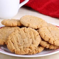 Miso Butter Cookies - These miso butter cookies have a rich, savory, buttery flavor - the miso really adds an richness to the cookie.
