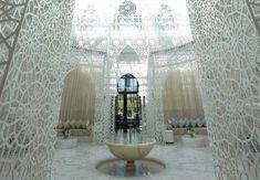 moroccan hammam, royal mansour, thermal bath
