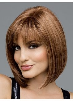 Sleek and Straight Bob Style