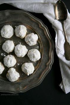 Russian Tea Cakes from JensFavoriteCookies.com