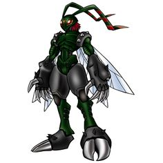 Stingmon - Champion level Insect digimon