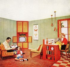 """""""The American Home"""" magazine, May 1956"""