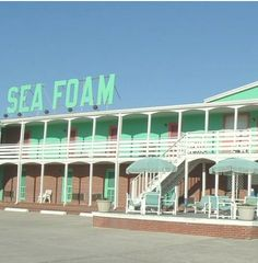Sea Foam Motel, Nags Head, NC  Perfect times at Nags Head !