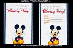 mous birthday, birthday party invitations, mickey mouse birthday, branson birthday, birthday parties, parti theme, birthday idea, kid parti, 2nd birthday