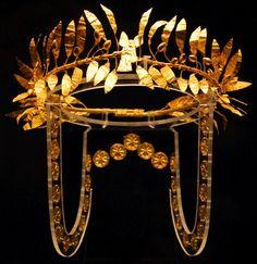 Thracian Crown (Bulgaria)  Mid 4th century BC