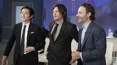 The Walking Dead/The guys on 'Katie'.