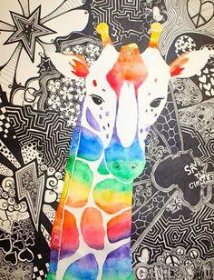 Color wheel animal