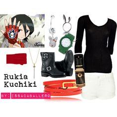 geeki style, everyday cosplay, modern cosplaycosplay, rukia kuchiki, casual cosplay, movi style, epic cloth, modern anime cosplay