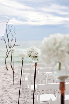 ♥ Beach ceremony ideas