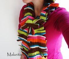 Simple Fleece Scarf | Make It and Love It