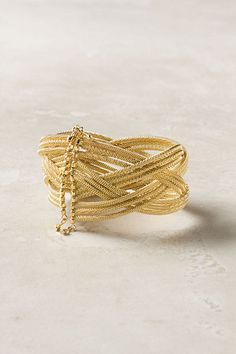 Woven Tangles Cuff #anthropologie