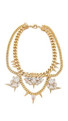 Fallon Jewelry Classique Crystal Necklace #Repin By:Pinterest++ for iPad#