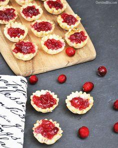 Cranberry Brie Tartlets Recipe