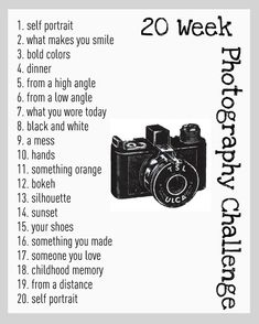 A Step in the Journey: Photography Challenge