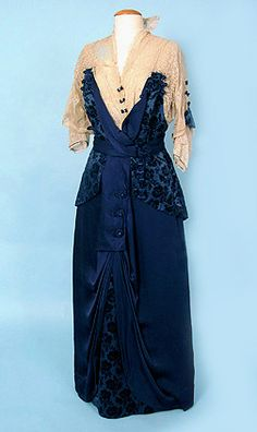 Tea dress, ca 1914