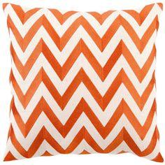 Chevron Pillow Orange