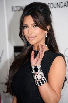 Kim Kardashian - #hair #makeup