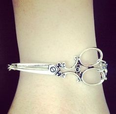 Silver Hair Stylist Scissors Bracelet – Proud To Be A Hair Stylist