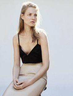 simple. leather skirts, suvi koponen, minimal style, street styles, kayt jone, fashion editorials, pencil skirts, miu miu, prespr 2013