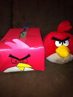 Angry Birds Valentine box.