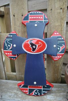 Houston Texans Wall Cross