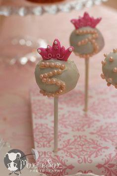 Princess cake pop