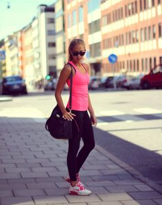 JUST DO IT! cute workout outfit///add me on pinterest [ Esosa Noruwa ] for fashion, quotes, fitness pins etc :)