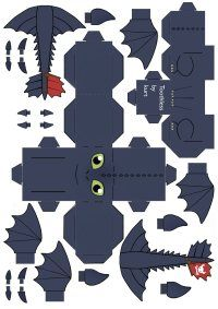 Free How to Train Your Dragon Printables, Downloads, and Crafts | SKGaleana Idea, Free Printables Dragon, Dragons, How To Train Your Dragon Craft, Toothless Costume, Dragon Printable, Dragon Parti, Toothless Dragon, How Train Your Dragon