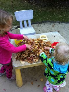 Outdoor Play with seasons
