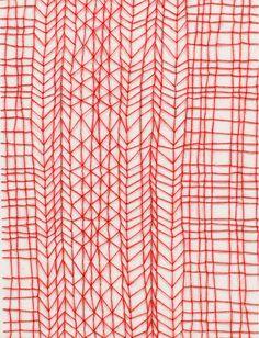 thread on paper