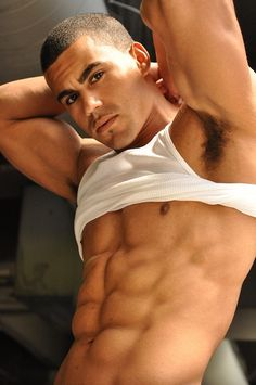 Hot Guy with Six Pack | Andre-Mull-muscular-six-pack-hot-male-model-sexy-1